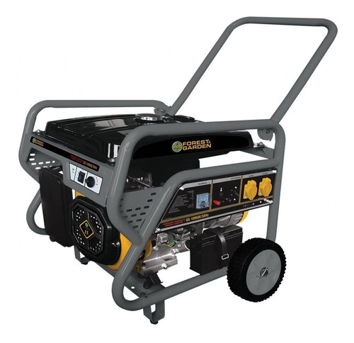 generador eléctrico nafta 4t 15hp 8.8kw forest garden 10960