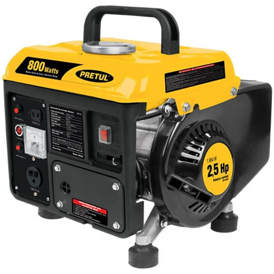 Generador electrico portatil a gasolina 800 w pretul 25100 - Generador de gasolina ...