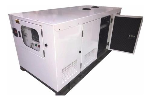generador eléctrico trifásico diesel  kushiro 25 kva