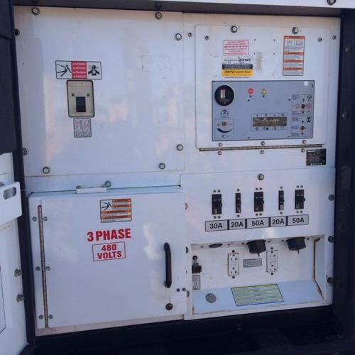generador electrico wacker  g125 de 98 kw mod. 2006