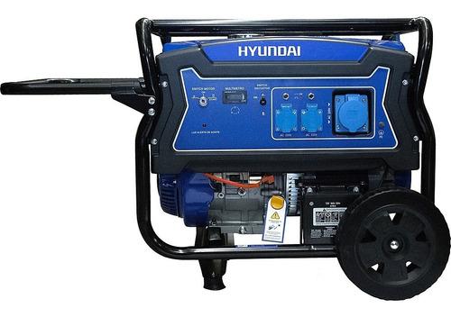 generador eléctrico y manual hyundai gasolina 5/5,5 kw/kva