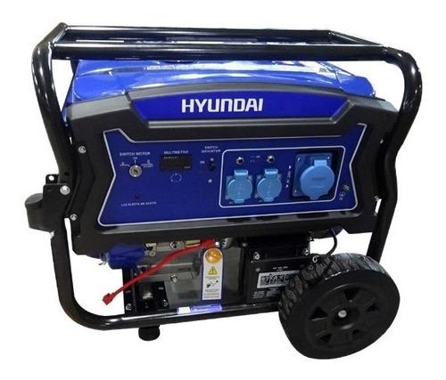 generador eléctrico y manual hyundai gasolina 7,5/8,3 kw/kva
