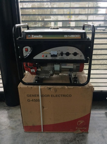 generador electrico zanella 4500w