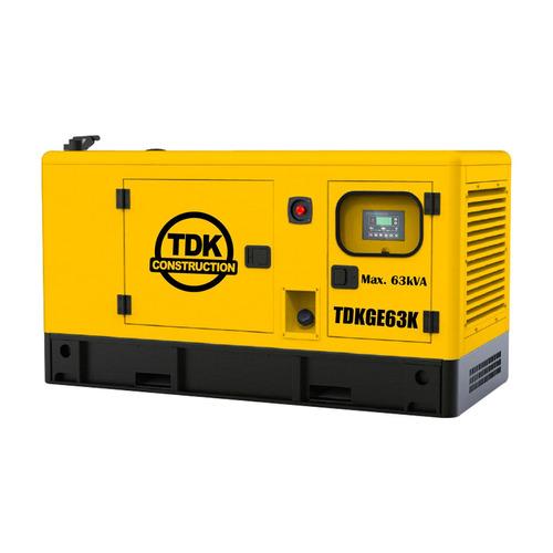 generador estacionario tdk 62.5 kva/50 kw 80 hp tdkge63k