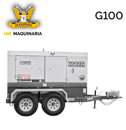 generador g 100 88kw marca wacker neuson