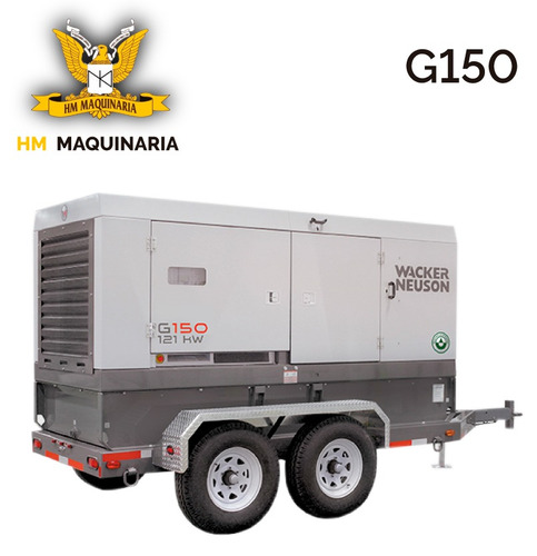 generador g 150 141kw marca wacker neuson