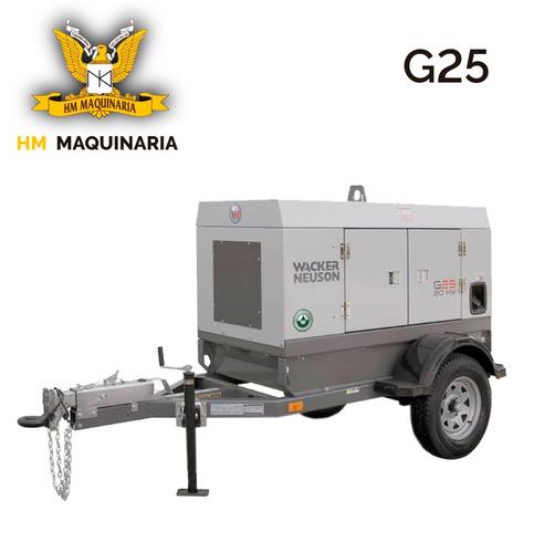 generador g 25 20kw marca wacker neuson