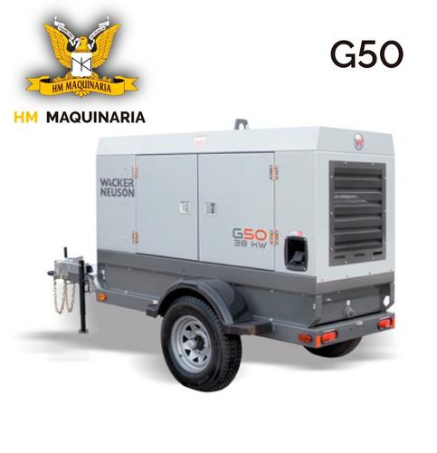 generador g 50 42kw marca wacker neuson