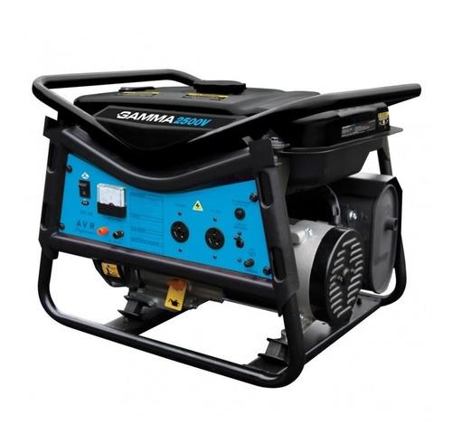 generador gamma monofasico nafta 2500w 6.5 hp