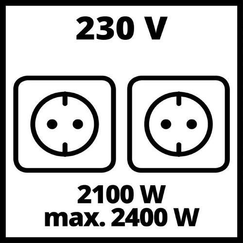 generador gasolina 15lts tc-pg 2500. einhell (c/envío stgo)