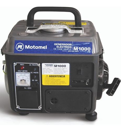 generador grupo electrogeno. ideal camping / aire libre - 2 tiempos - arranque manual. motomel m1000