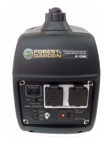 generador grupo electrogeno inverter 2000w forest garden