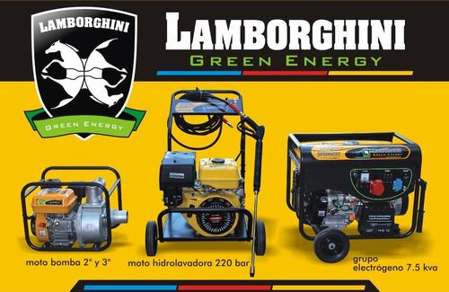 generador grupo electrógeno lamborghini 7,5kva 15hp trifasic