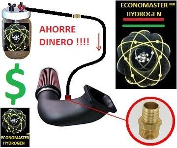 generador hidrógeno hho 50% ahorre gasolina envio gratis