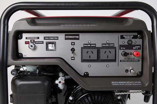 generador honda eg 6500 cxs mejor contado honda guillon