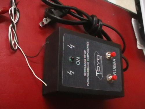 generador hv para prueba de componentes