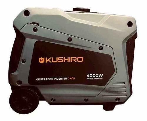 generador inverter kushiro 4000 watts novedad