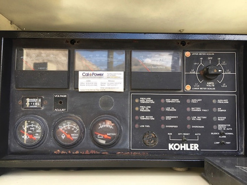 generador kohler 25kw