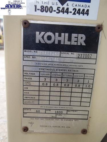 generador kohler arranque automatico 1998 aprox precio neto