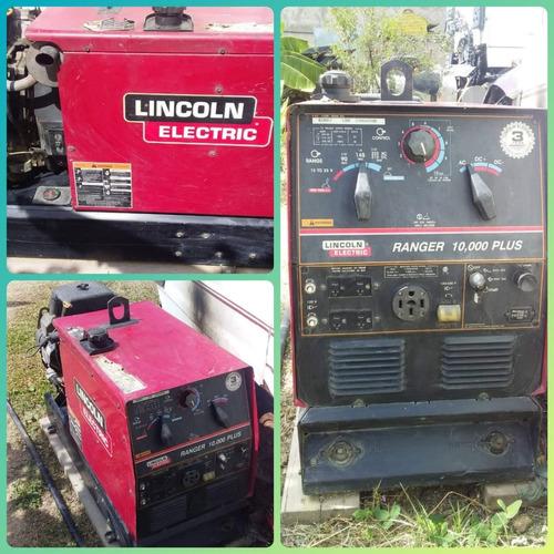 generador lincoln electric ranger 10mil plus(10kva) y soldar