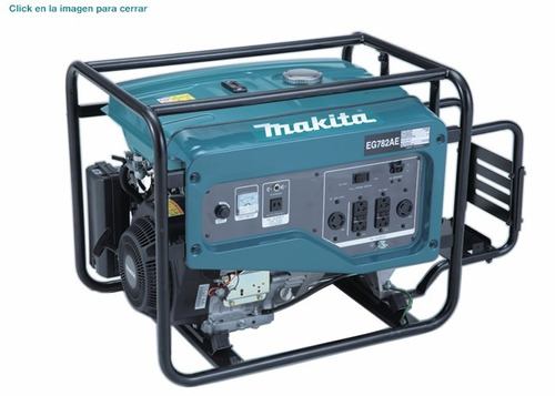 generador makita  de 7800w mod. eg782ae