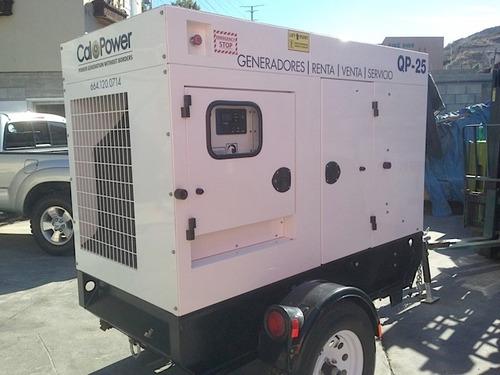 generador modelo qp 25 kva  venta / renta
