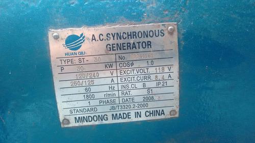 generador monofasico nuevo jamaz usado una fase