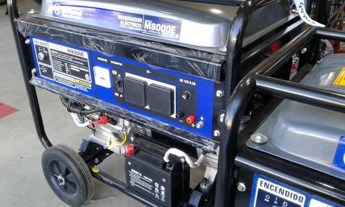 generador motomel m8000  e - tamburrino motos