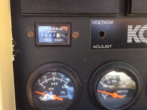 generador planta de luz 100 kw kohler diesel nacional