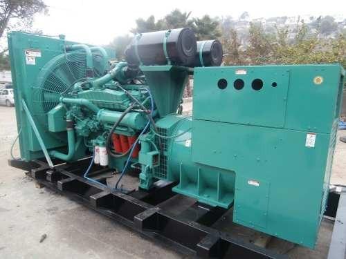 generador planta de luz 600 kw onan cummins diesel