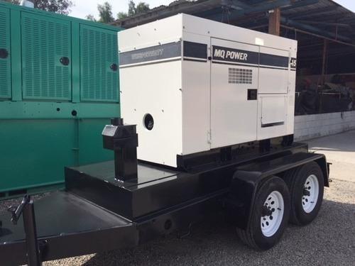 generador planta de luz multiquip 45 kva diesel garantizada