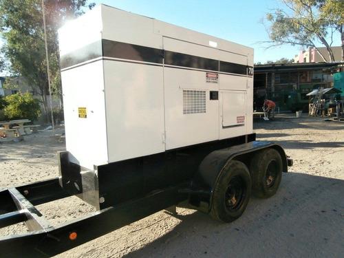 generador planta de luz multiquip 70 kva- 56 kw