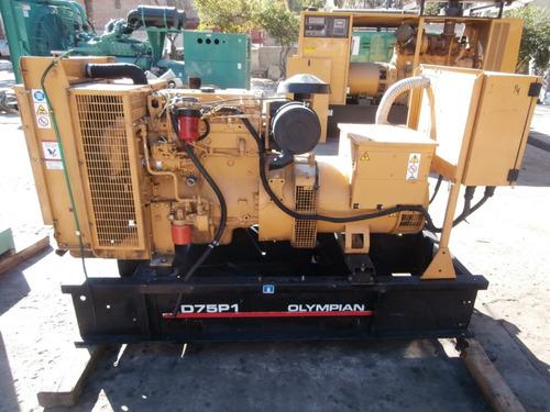 generador planta de  luz olympian 75 kw nacional garantizado