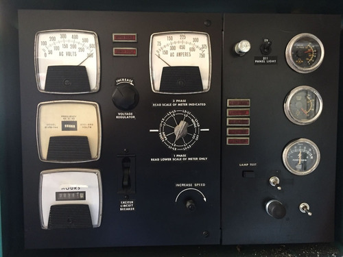 generador planta de luz onan 150 kw diesel 582 hrs nacional