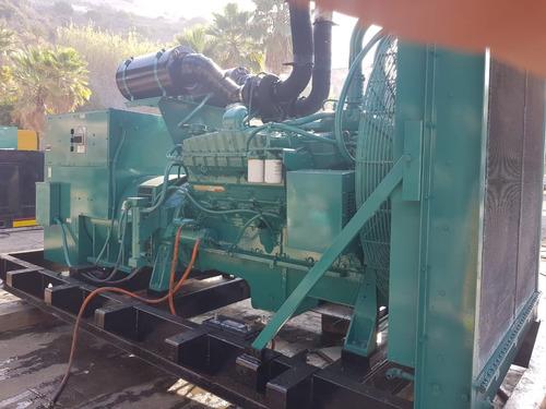 generador planta de luz onan 600 kw diesel oferta nacional