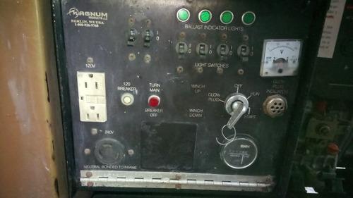 generador planta de luz torre de luz de 6.5kw a diesel