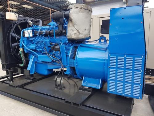generador planta de luz volvo 150 kw diesel nacional