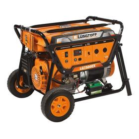 Generador Portátil Lüsqtoff Lg7500ex 7500w Monofásico 220v