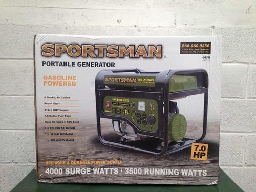 generador portatil sportman 4000 watt