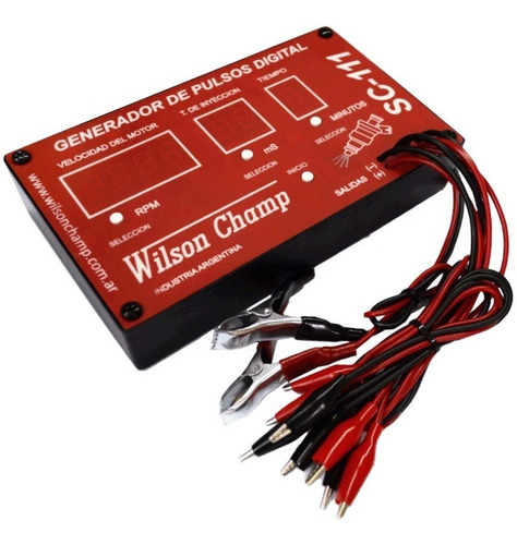generador pulsos digital wilson champ sc-111 + soft taller