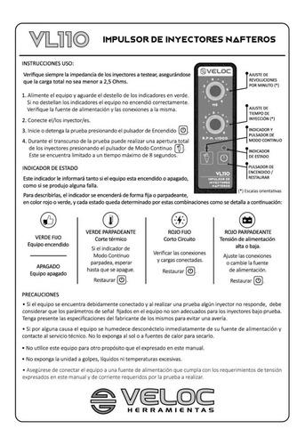 generador pulsos inyectores veloc digital 4sal dvd taller d