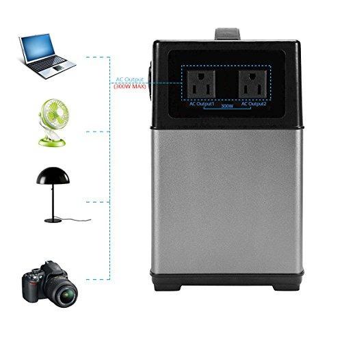 generador solar portátil hy-ps5b acopower 400wh batería