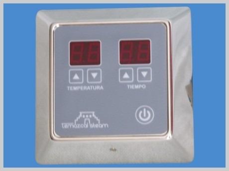generador vapor baño