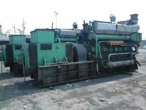 generador wartsila 824 ts de 1030 kw