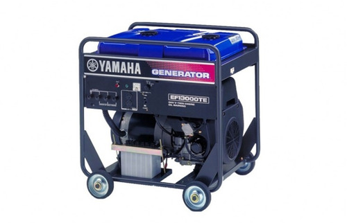 generador yamaha ef13000te 220/380v, 50hz, arr. man./elect.