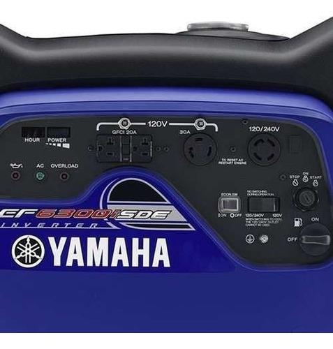 generador yamaha inverter ef 6300 ise 0km