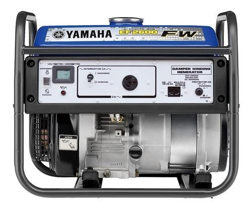 generador yamaha original ef2600fw entrega ya! renosto 2600w
