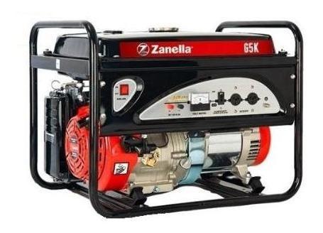 generador zanella 4500 ohv 4t 0km tarjeta ahora 12 cuotas