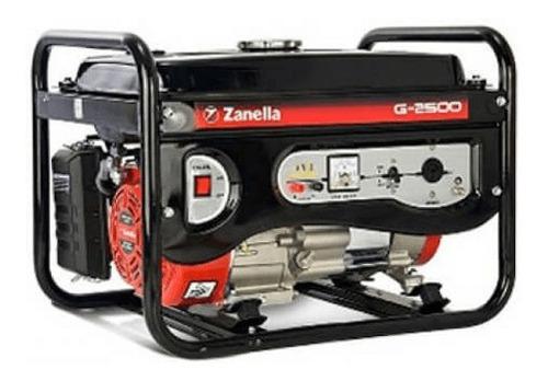 generador zanella g 2500 0km 12 cuotas sin interés tarjeta