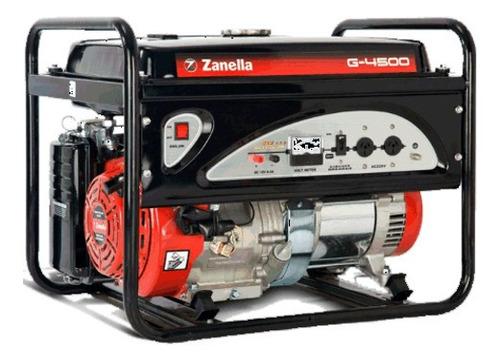 generador zanella g5k 4500 0km 12 cuotas sin interés tarjeta
